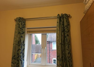 Fitted curtain poll in Thame