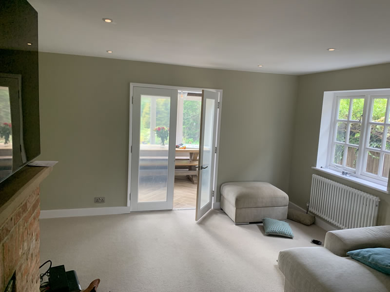 Painted Lounge in Thame